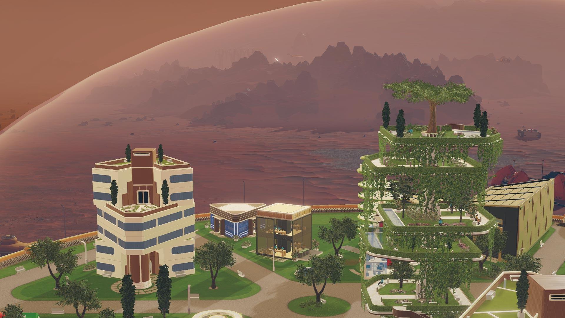Скриншот №3 к Surviving Mars - Stellaris Dome Set