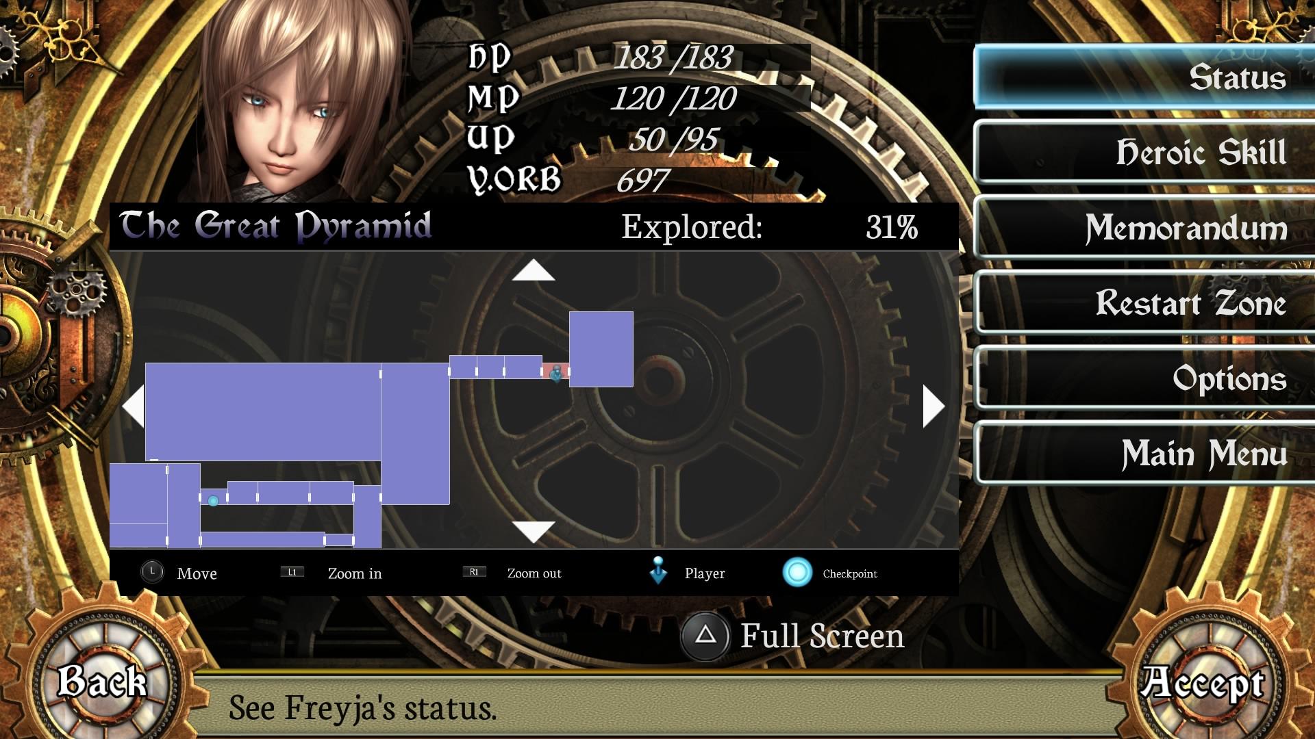 Скриншот №7 к AeternoBlade