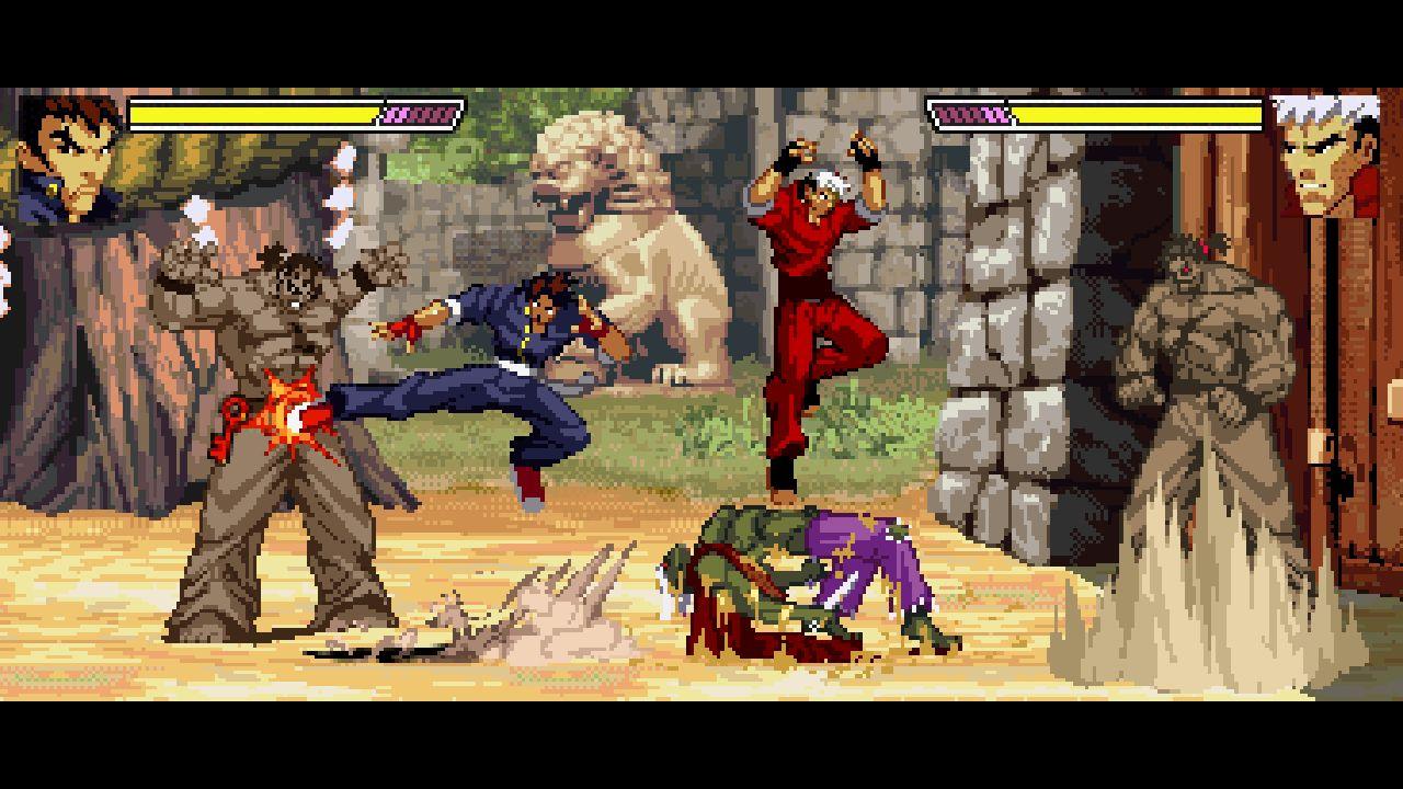 Скриншот №1 к Gekido Kintaros Revenge
