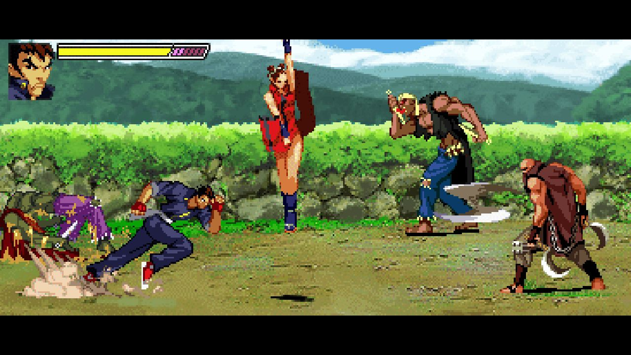 Скриншот №5 к Gekido Kintaros Revenge