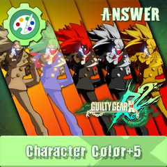 GGXR Additional Character Color - ANSWER [CROSS-BUY]