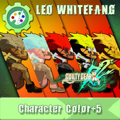 GUILTY GEAR Xrd Rev.2 Additional Character Color - LEO