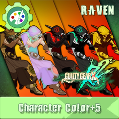 GUILTY GEAR Xrd Rev.2 Additional Character Color - RAVEN