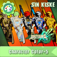 GUILTY GEAR Xrd Rev.2 Additional Character Color - SIN