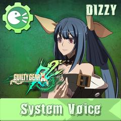 GUILTY GEAR Xrd Rev.2 System Voice 'DIZZY'