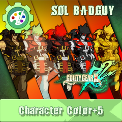 GUILTY GEAR Xrd Rev.2 Additional Character Color - SOL