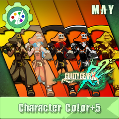 GUILTY GEAR Xrd Rev.2 Additional Character Color - MAY