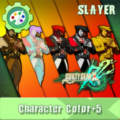 GUILTY GEAR Xrd Rev.2 Additional Character Color - SLAYER