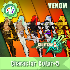 GUILTY GEAR Xrd Rev.2 Additional Character Color - VENOM