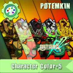 GUILTY GEAR Xrd Rev.2 Additional Character Color - POTEMKIN