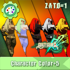 GUILTY GEAR Xrd Rev.2 Additional Character Color - ZATO