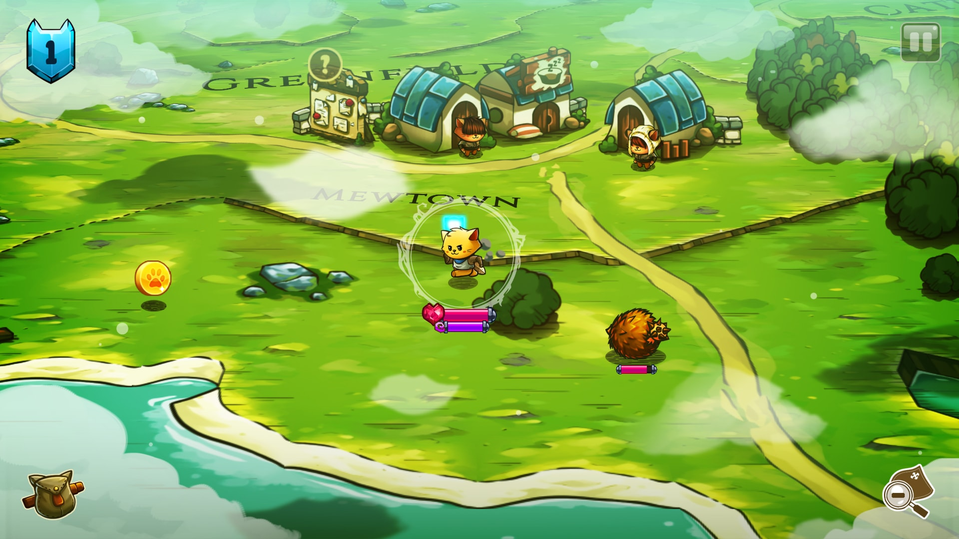 Cat Quest скриншот 2