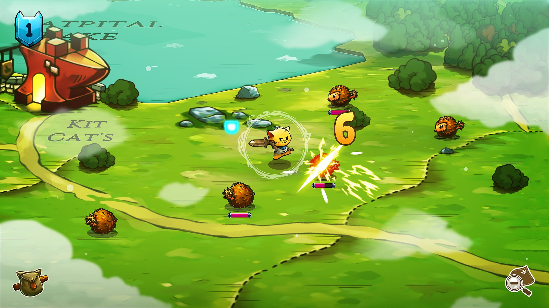 Cat Quest скриншот 1