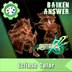 GGXR Additional Character Color - Eclipse (for Answer&Baiken)