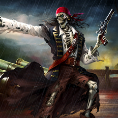 BRIKS Cannon and Pirates Undead HD Theme