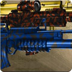 Blue Tiger Camo Theme