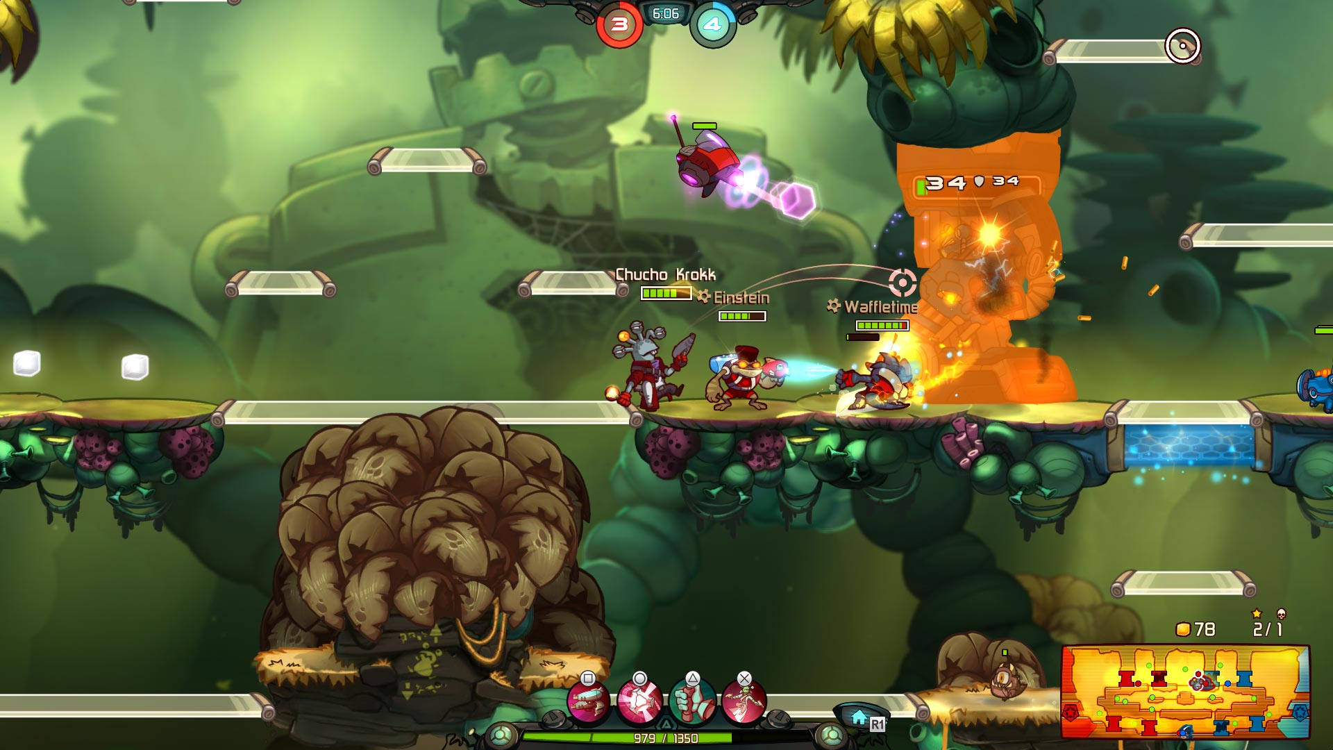 Awesomenauts Assemble! Fully Loaded Collector's Pack скриншот 5