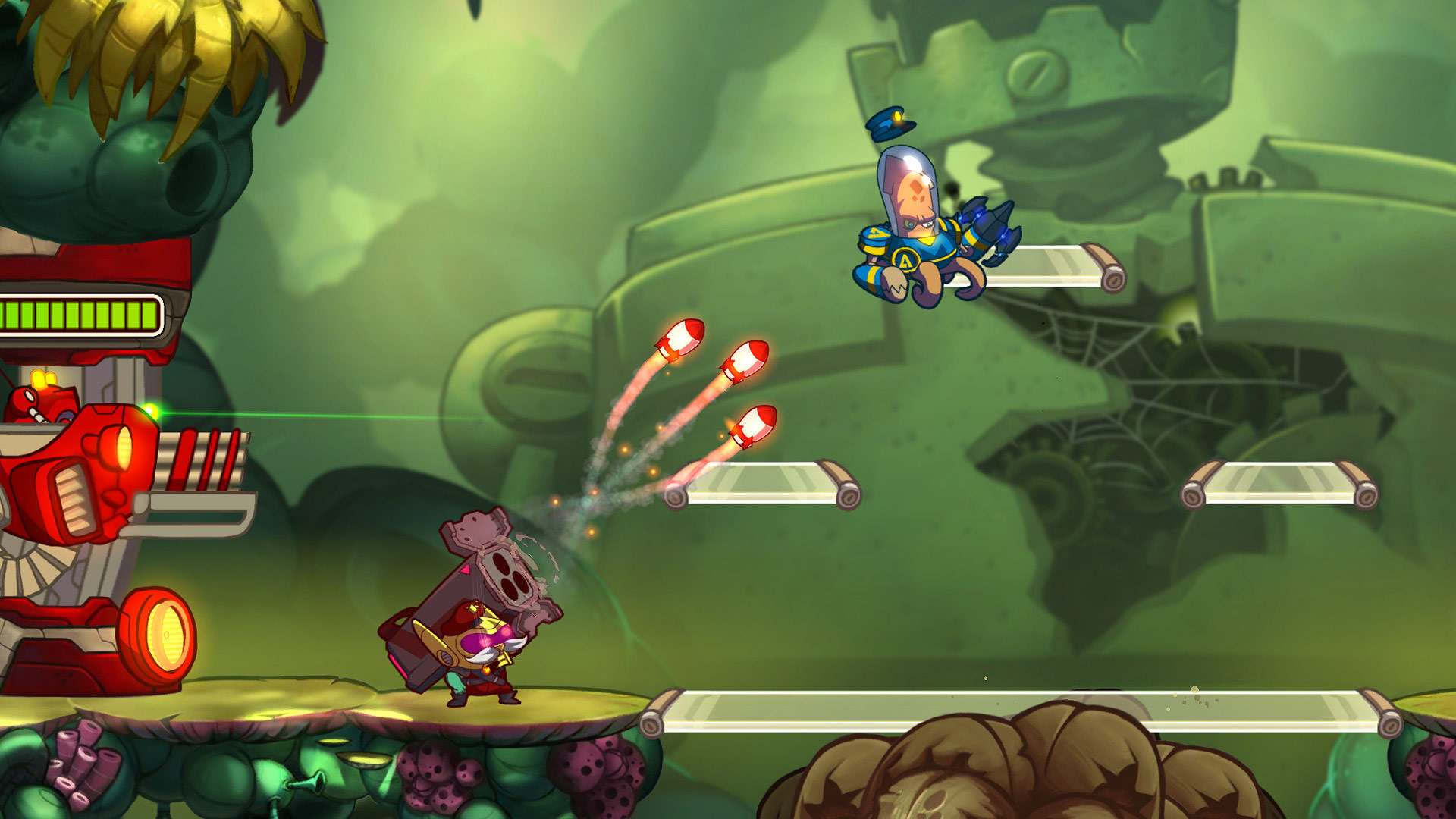 Awesomenauts Assemble! Fully Loaded Collector's Pack скриншот 1