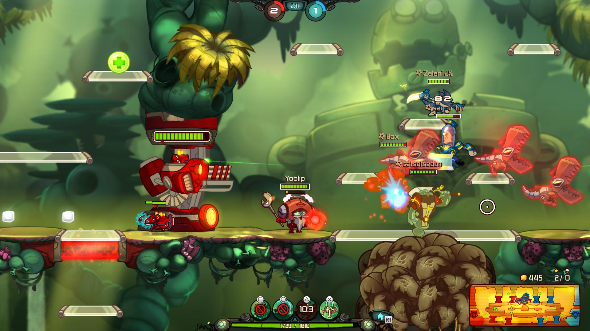 Awesomenauts Assemble! Fully Loaded Collector's Pack скриншот 9
