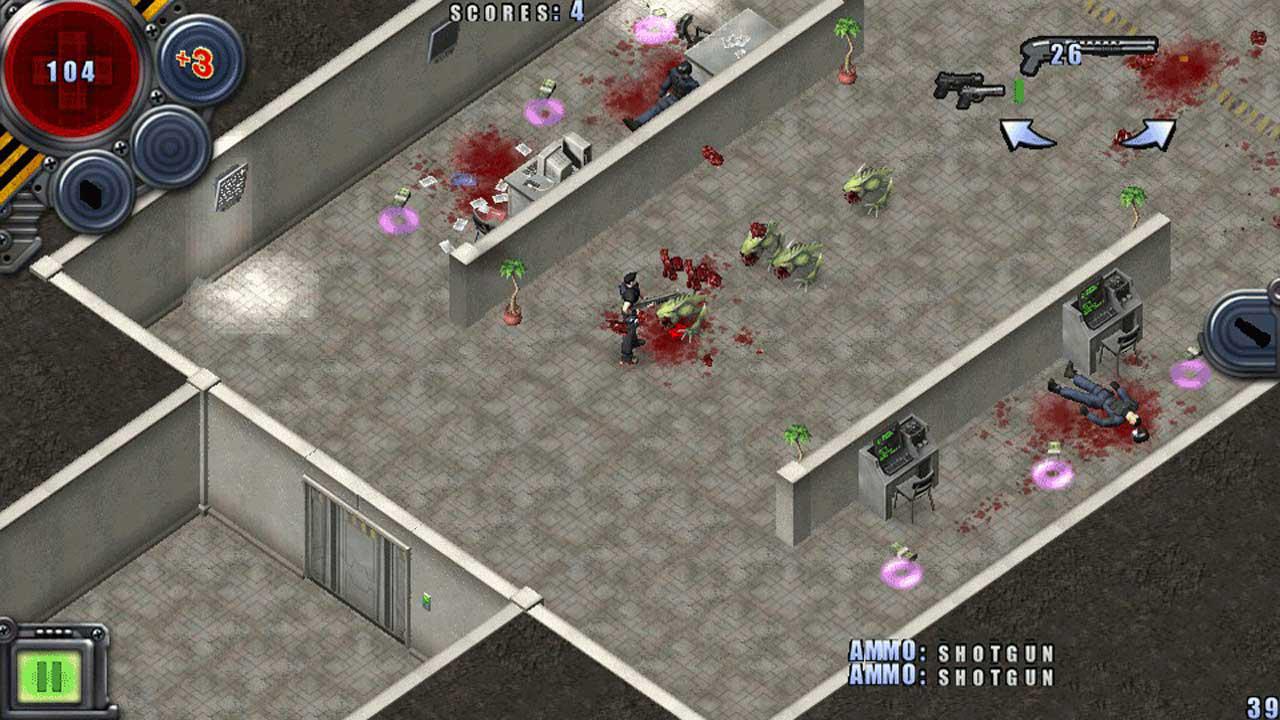 Скриншот №5 к Alien Shooter