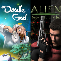 Alien Shooter + Doodle God Bundle