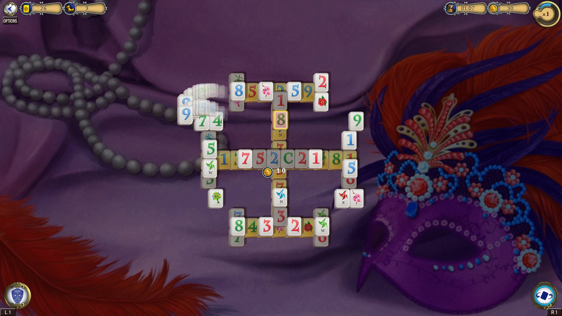 Mahjong Carnival скриншот 3