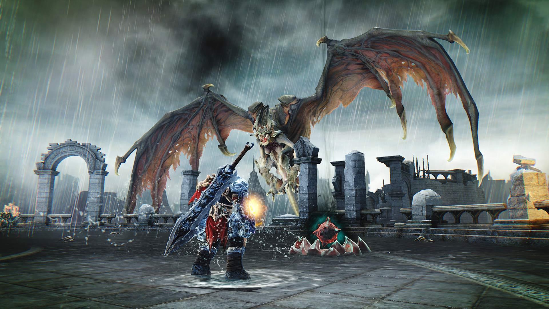 Скриншот №1 к Darksiders Furys Collection - War and Death