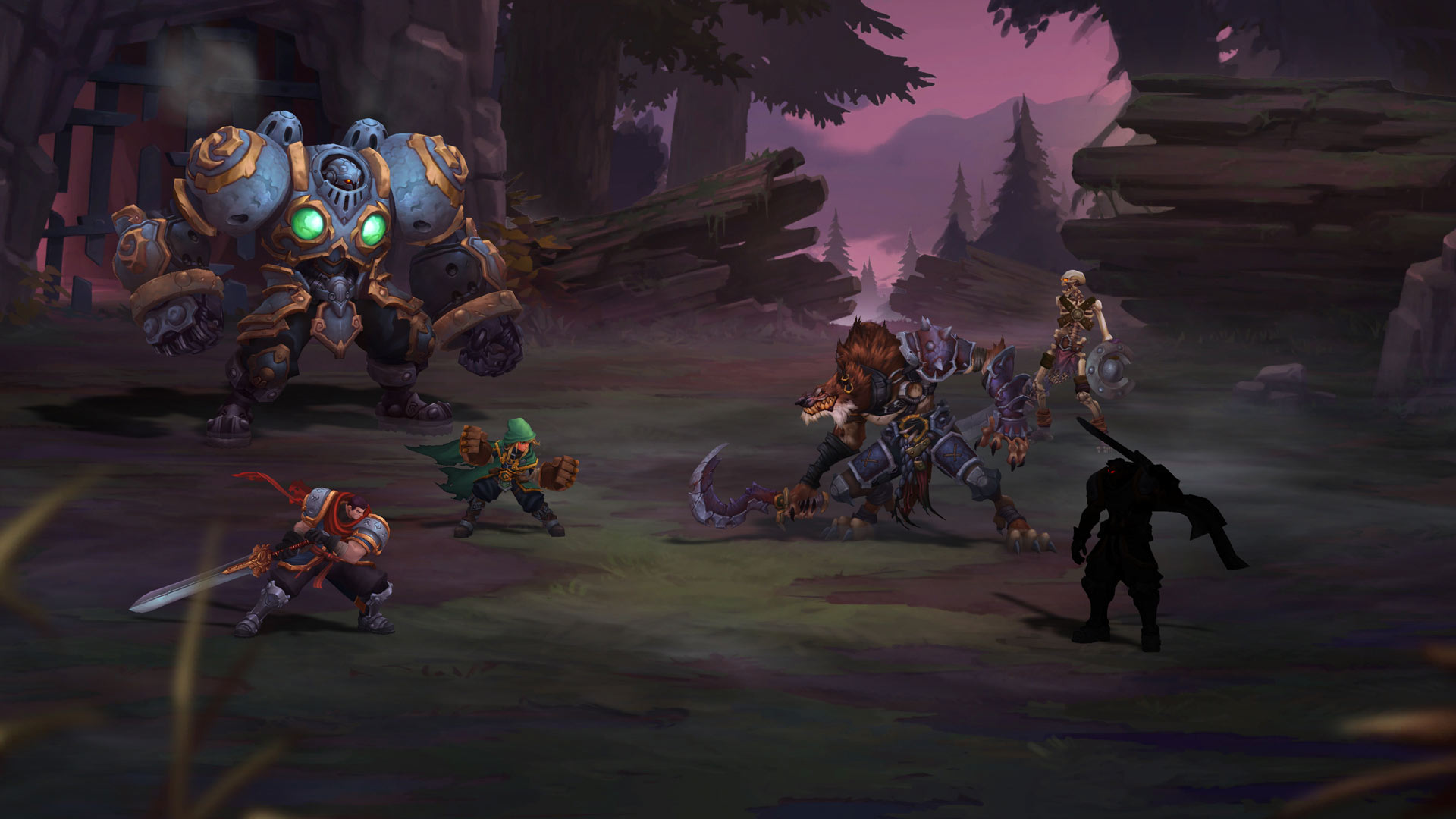 Image result for Battle Chasers Nightwar
