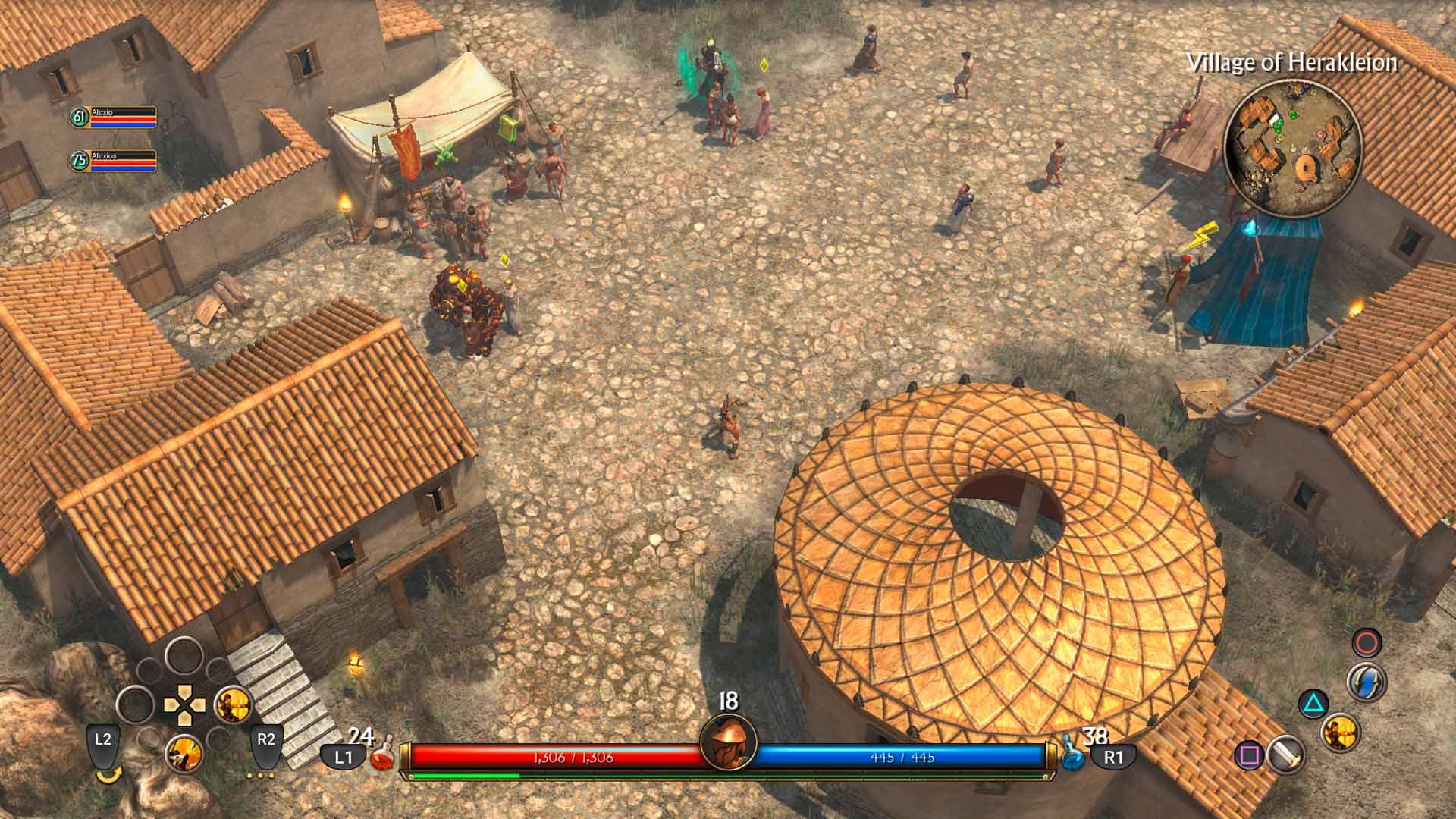 Скриншот №4 к Titan Quest