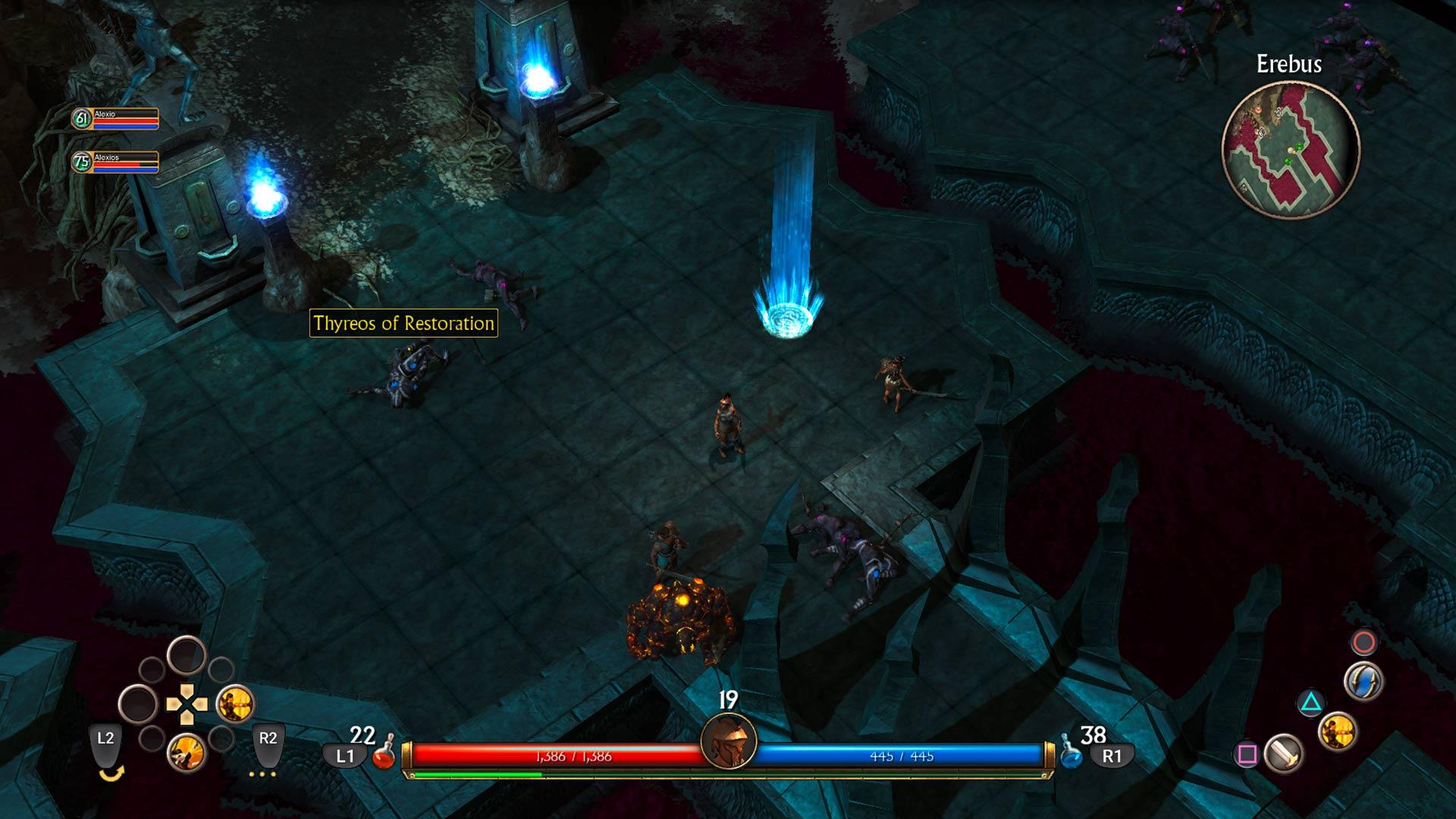 Скриншот №2 к Titan Quest