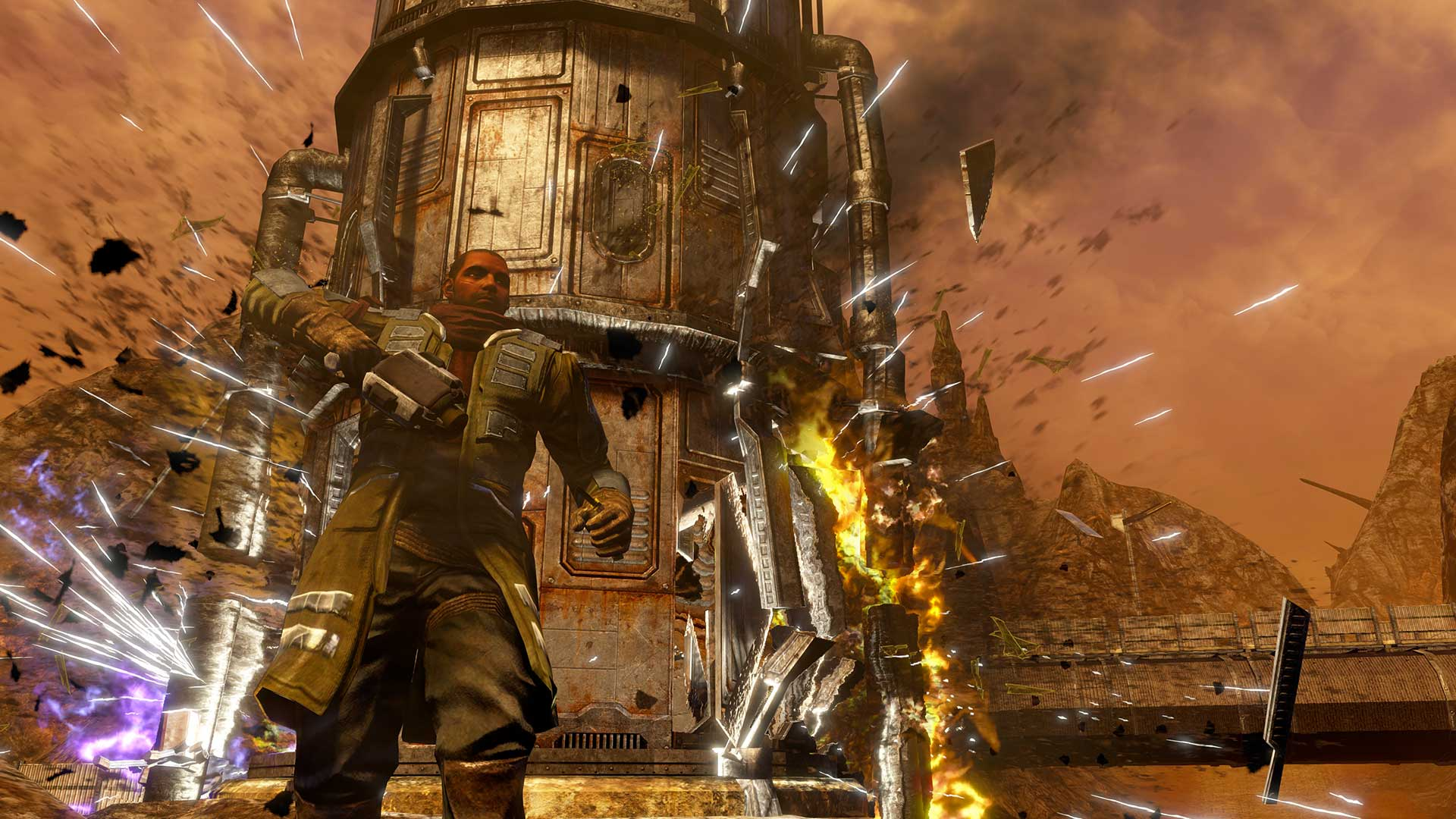 Red Faction Guerrilla Re-Mars-tered скриншот 2