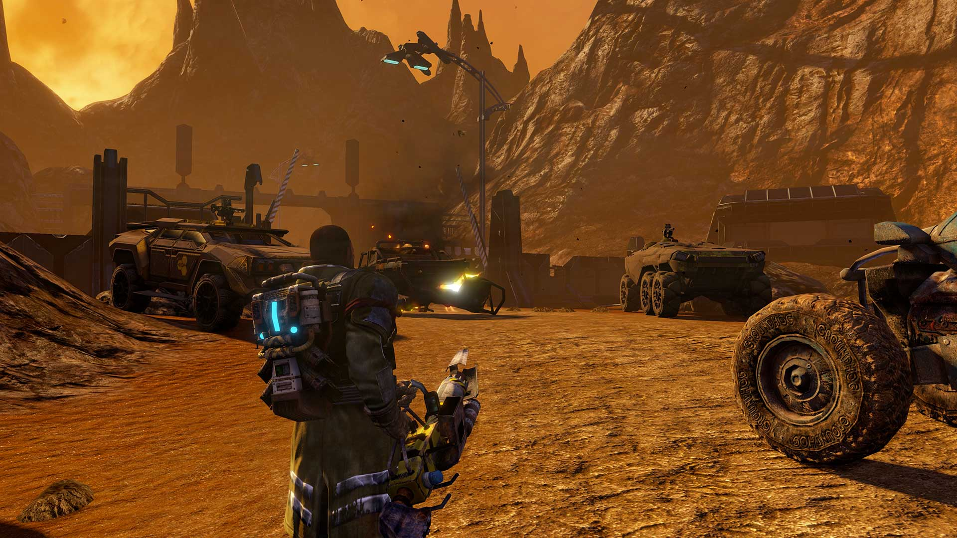 Red Faction Guerrilla Re-Mars-tered скриншот 1