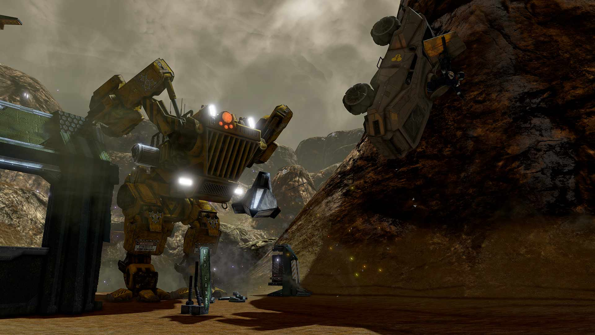 Red Faction Guerrilla Re-Mars-tered скриншот 3