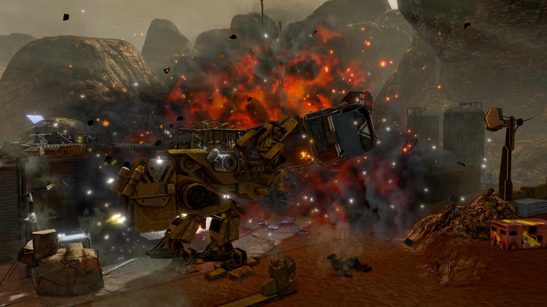 Red Faction Guerrilla Re-Mars-tered скриншот 4