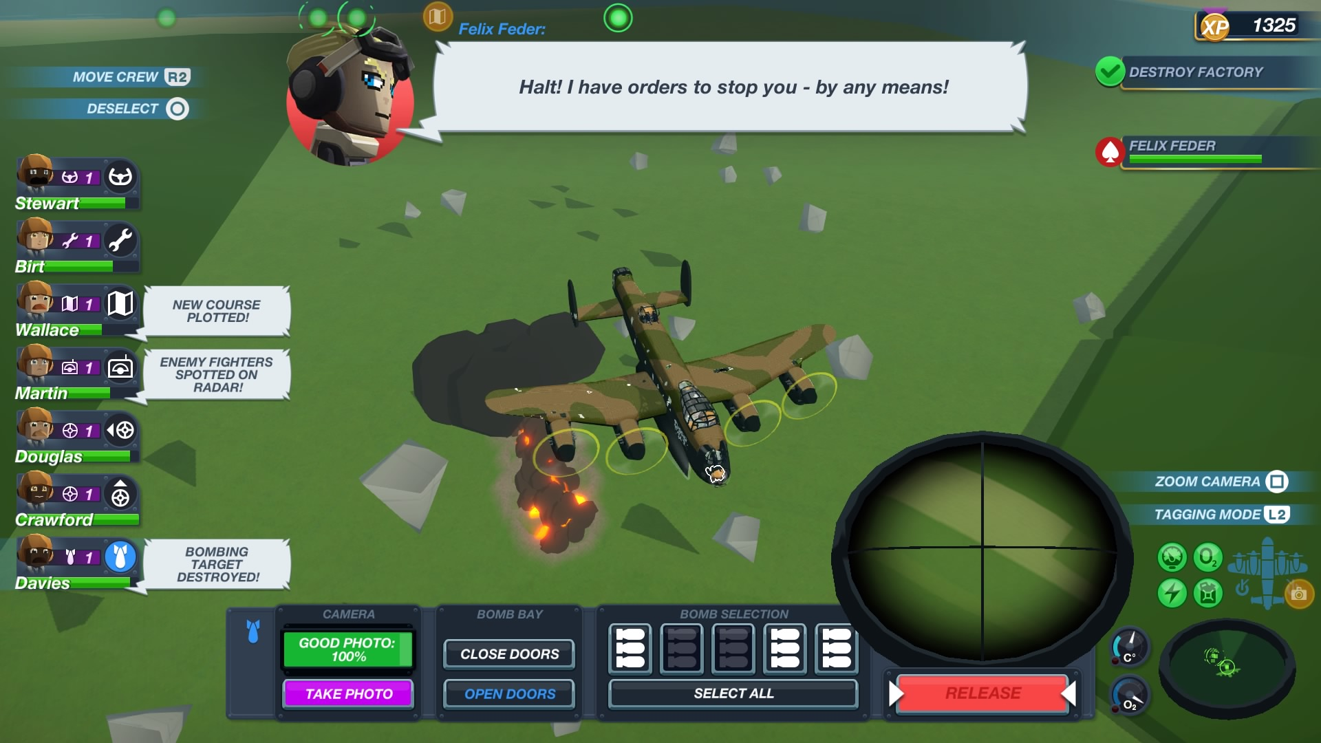 Bomber Crew скриншот 1