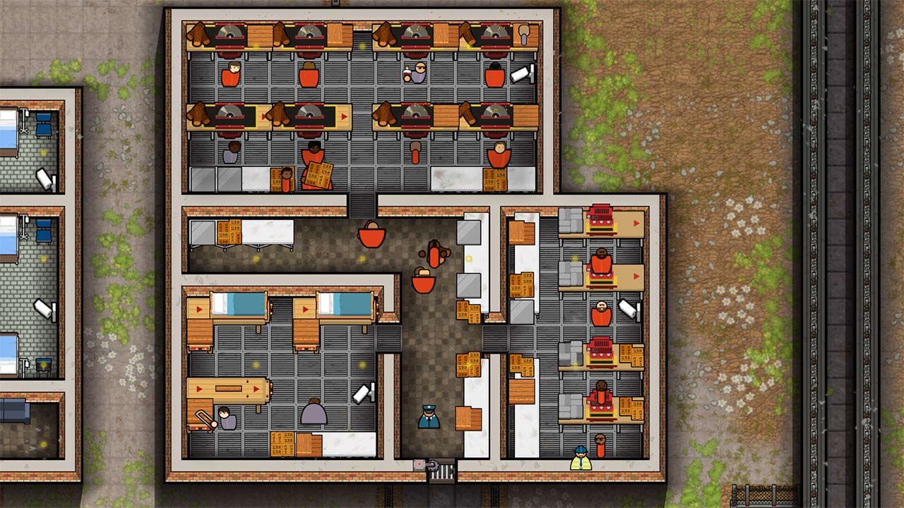 prison architect  all day and a psych on ps4