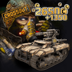 Crossout — 'Armored turtle' Founder Bundle