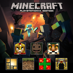 Minecraft Playstation 4 Edition Fan Favorites Pack For Ps4
