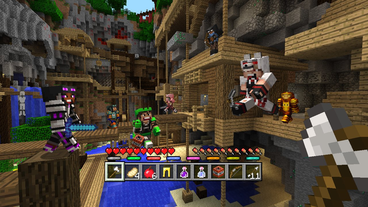 Minecraft Mini Game Masters Skin Pack On PS Official PlayStation - Minecraft skins fur die ps3