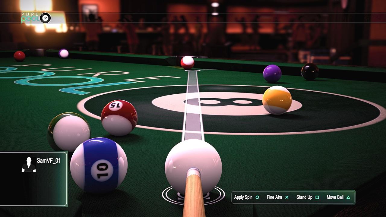 Pure Pool: набор снукера скриншот 3