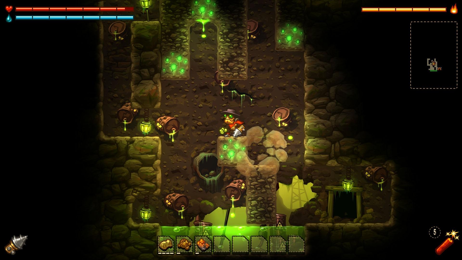 Скриншот №10 к SteamWorld Dig