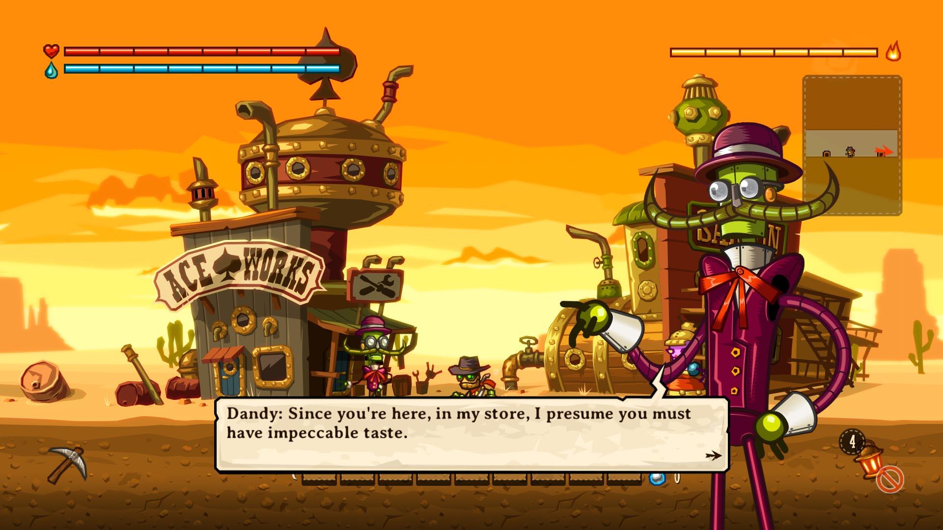 Скриншот №7 к SteamWorld Dig