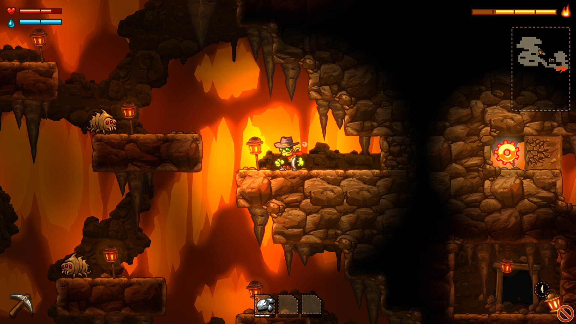 Скриншот №6 к SteamWorld Dig