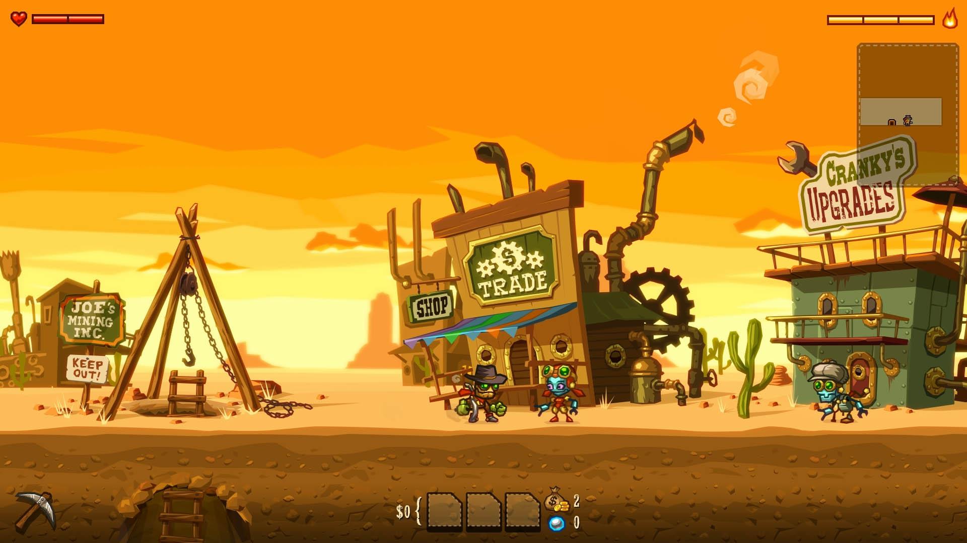 Скриншот №4 к SteamWorld Dig