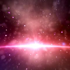 1 фиолетовый галактика динамическая тема