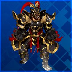 Black Bushin Super Skeleton