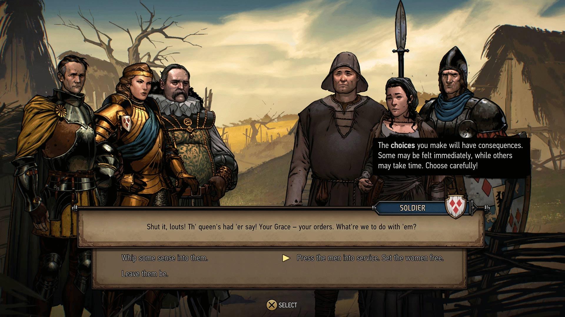 Скриншот №1 к Кровная вражда Ведьмак. Истории