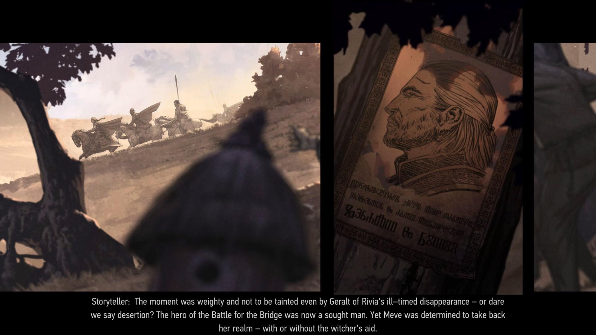 Скриншот №6 к Кровная вражда Ведьмак. Истории