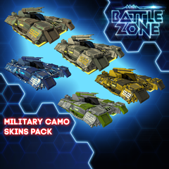 Battlezone - Military Camo Tank Skins Pack