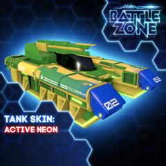 Battlezone - Active Neon Tank Skin